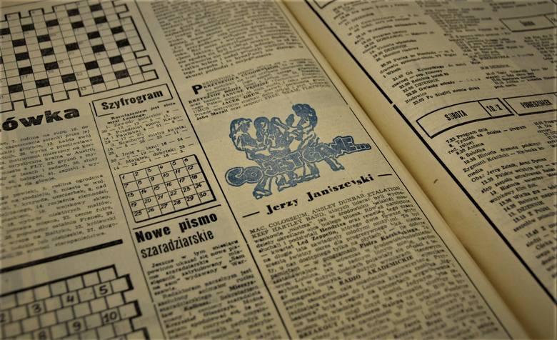"""Pierwszy artykuł z cyklu """"Budka Suflera Story…"""" w wydaniu z września 1983 r."""