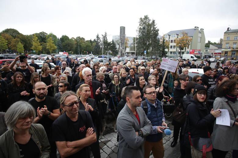 Czarny Protest w Słupsku.