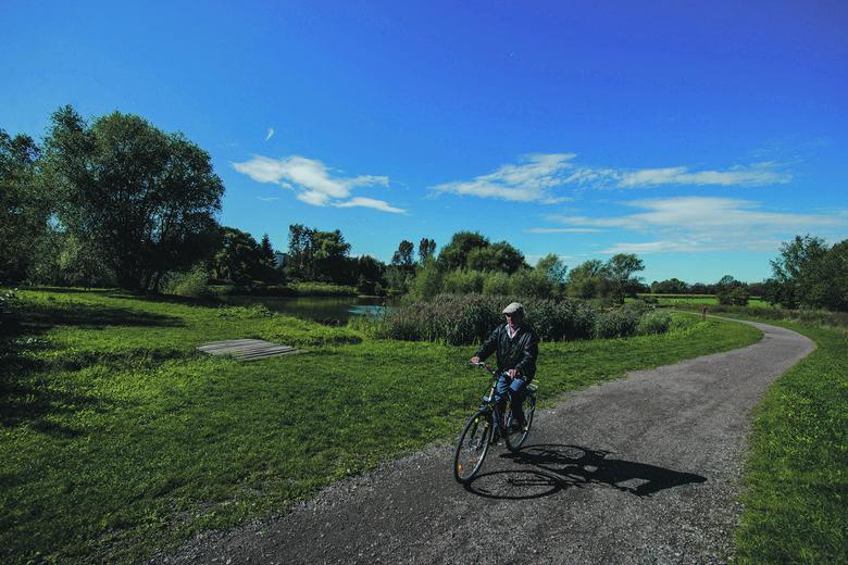 Nowe odcinki ścieżek rowerowych łączących docelowo północ miasta z południem i miastami ościennymi - Chorzowem i Katowicami : osiemnaście i pół kilometra istniejących ścieżek rowerowych wzbogacą zaprojektowane nowe cztery ciągi o łącznej długości dziesięciu kilometrów.