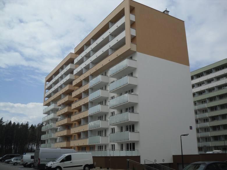 Kategoria budynek wielorodzinny nowy Osiedle Rekreacyjne - inwestor Yuniwersal Podlaski
