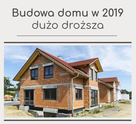 Wysokie ceny usług budowlanych nie są jedynym powodem wzrostu kosztów budowy domu. W Polsce ostateczny koszt domu za 1 mkw. kształtują również ceny materiałów
