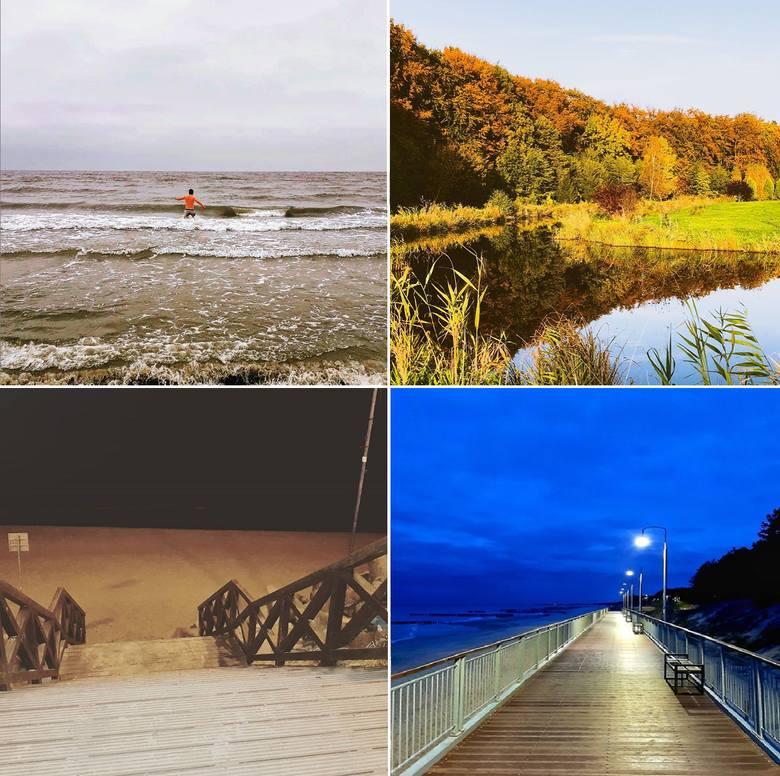 Mimo, że sezon letni już dawno dobiegł końca, Mielno wciąż zachwyca. Jesienne zachody słońca i piękne plaże przyciągają turystów. Na platformie Instagram