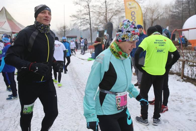 Styczniowy bieg City Trail w Katowiach