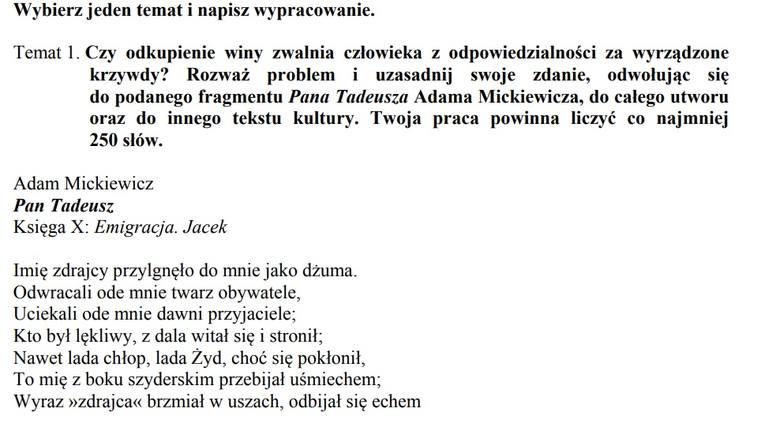 Matura 2018 Co Będzie Na Języku Polskim Typujemy Tematy