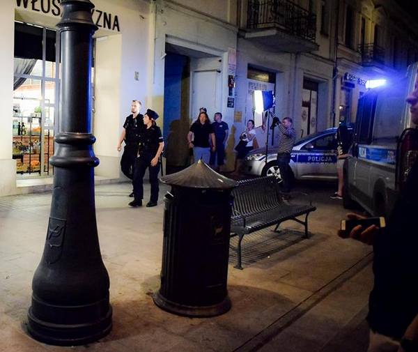 Magda Gessler została zaatakowana na ul. Piotrkowskiej przez dwóch napastników.