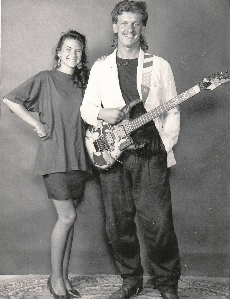 To zdjęcie promowało we francuskich gazetach trasę koncertową polskich muzyków po Francji w 1991 r.