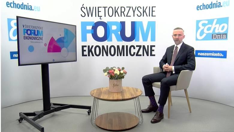 Gospodarzem Forum będzie dziennikarz Echa Dnia, Paweł Więcek