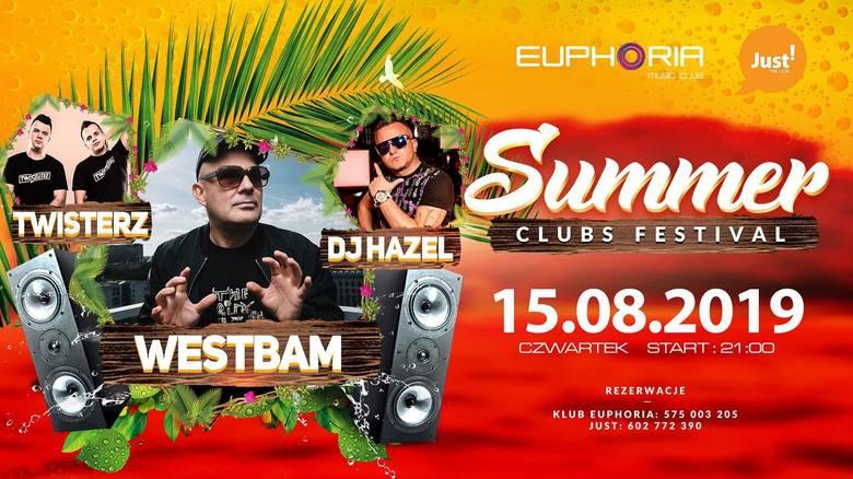 data: 15-17 sierpniagodzina: od 16:30 do 4:30miejsce: Euphoria Club Łeba, Just! the club i Just the beachZagrają:Westbam - Żywa legenda muzyki elektronicznej,