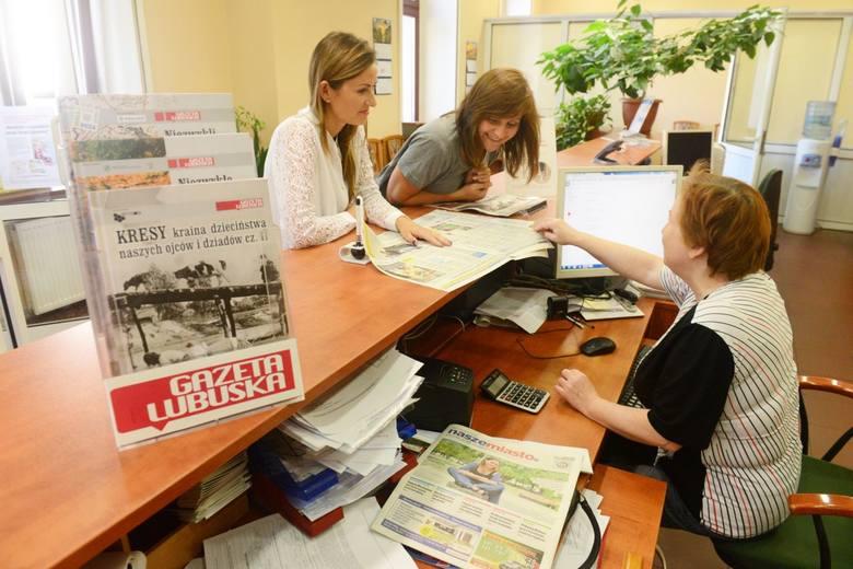 Biuro Ogłoszeń Gazety Lubuskiej, Zielona Góra al. Niepodległości 25