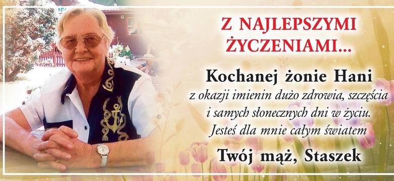 Życzenia - urodzinowe, imieninowe, z okazji rocznicy ślubu - możecie wysłać do nas pocztą elektroniczną naadres: online@tygodnikostrolecki.pl; pocztą