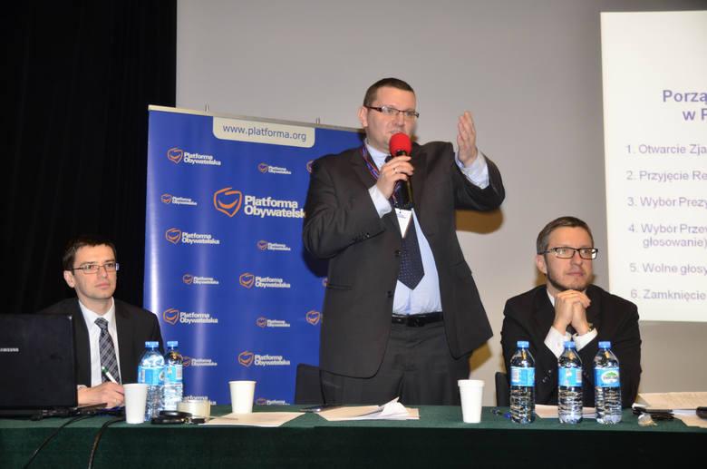 Filip Kaczmarek zrezygnował ze stanowiska szefa poznańskiej PO po aferze mieszkaniowej ujawnionej w maju 2015 r.