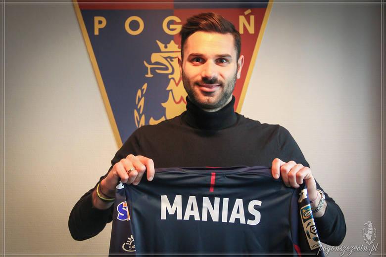 Michalis Manias - nowy napastnik Pogoni Szczecin