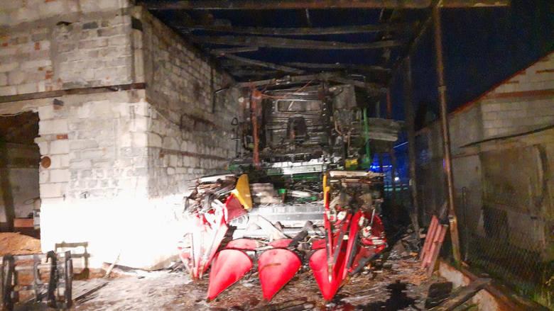 W czwartek przed godz. 1 w nocy straż pożarna odebrała zgłoszenie o pożarze w miejscowości Stubno. Wyjechały dwa zastępy PSP Przemyśl i OSP Stubno. Po