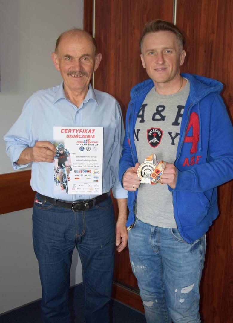 Michał Ciecierski i Zdzisław Piotrowski wystartowali w ultra maratonie Piękny Wschód