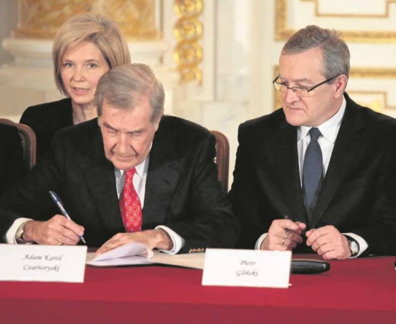 W grudniu ub. r.  Adam K. Czartoryski sprzedał kolekcję za 100 mln euro