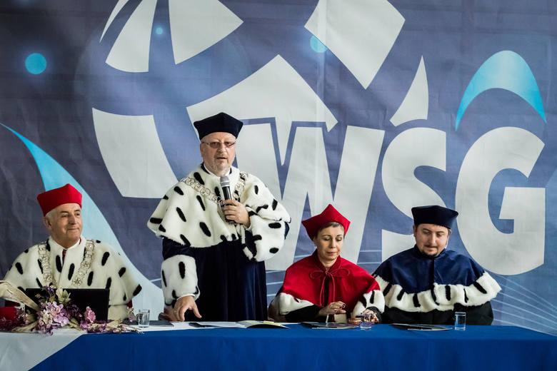 Inauguracja Roku Akademickiego na WSG w Bydgoszczy.Pogoda w Kujawsko-Pomorskiem(źródło: x-news)
