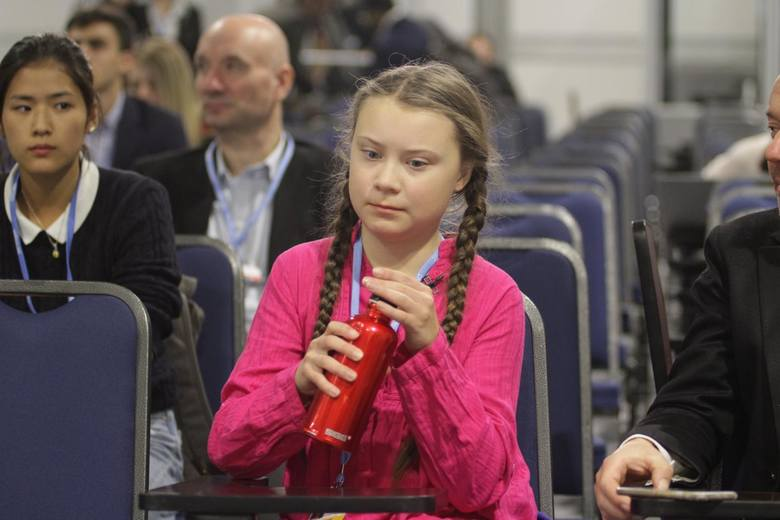 Greta Thunberg na COP24 w Katowicach
