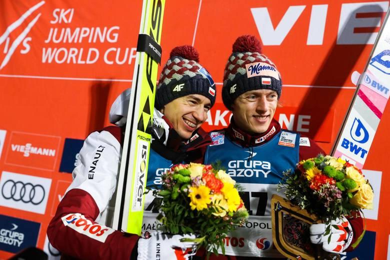 Skoki narciarskie. Ile zarobili Dawid Kubacki, Kamil Stoch i pozostali? Kto zarobił najwięcej w Pucharze Świata w sezonie 2019/20