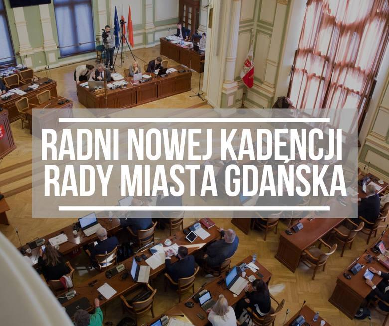 Wybory do Rady Miasta Gdańska. Lista 34 radnych do nowej kadencji Rady Miasta Gdańska