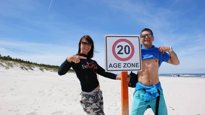 Zakaz wstępu dla osób poniżej 20. roku życia