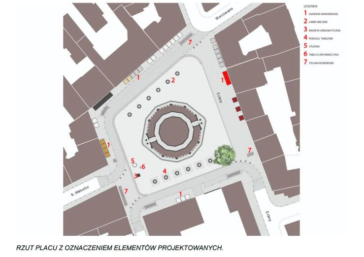 Kraków. Nowe porządki i ograniczenia ruchu na placu Nowym. Zasadzą tylko jedno samotne drzewo, jako symbol przemian [WIZUALIZACJE]