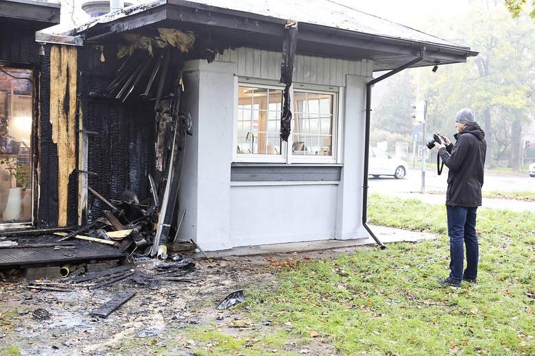Pożar w kawiarni Biancafe w Szczecinie. Czy to było podpalenie?