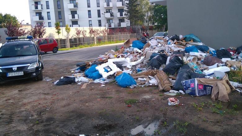 Jakie śmieci są podrzucane?To przede wszystkim odpady wielkogabarytowe, zużyta chemia, odpady budowlane. Tych, jak mówią strażnicy, jest najwięcej i