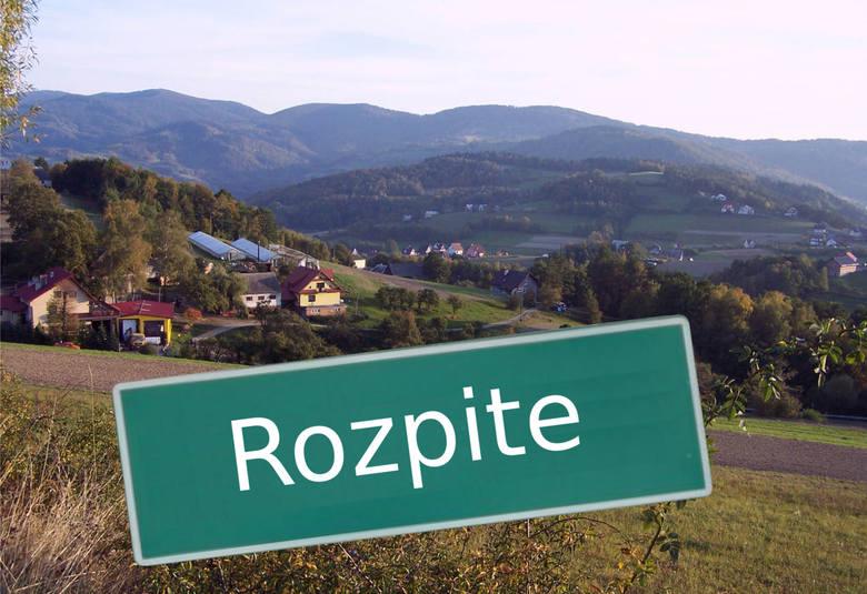 Rozpite to część wsi Laskowa w powiecie limanowskim. Jest to miejscowość o charakterze turystyczno-wypoczynkowym, to choć po części może tłumaczyć n