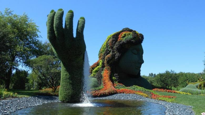 Rzeźby ogrodowe