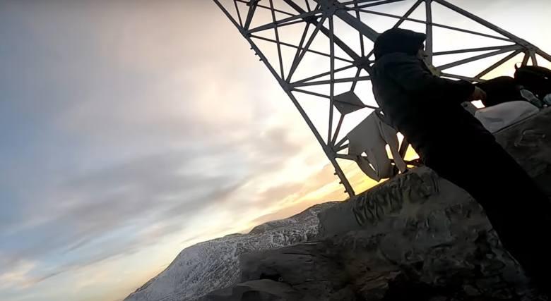 Tatry. Techno na Giewoncie. Weszli na krzyż przy głośnej muzyce [FILM] 23.10.