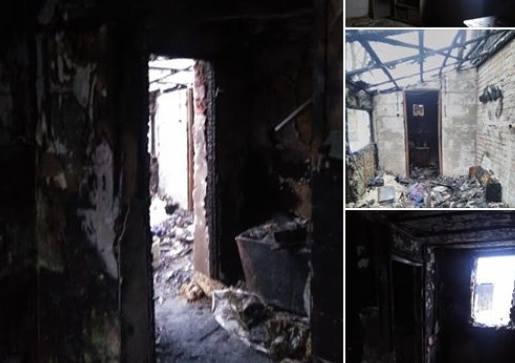 Dom pani Anny w Trzebiczu koło Drezdenka to dziś wypalone, czarne ściany