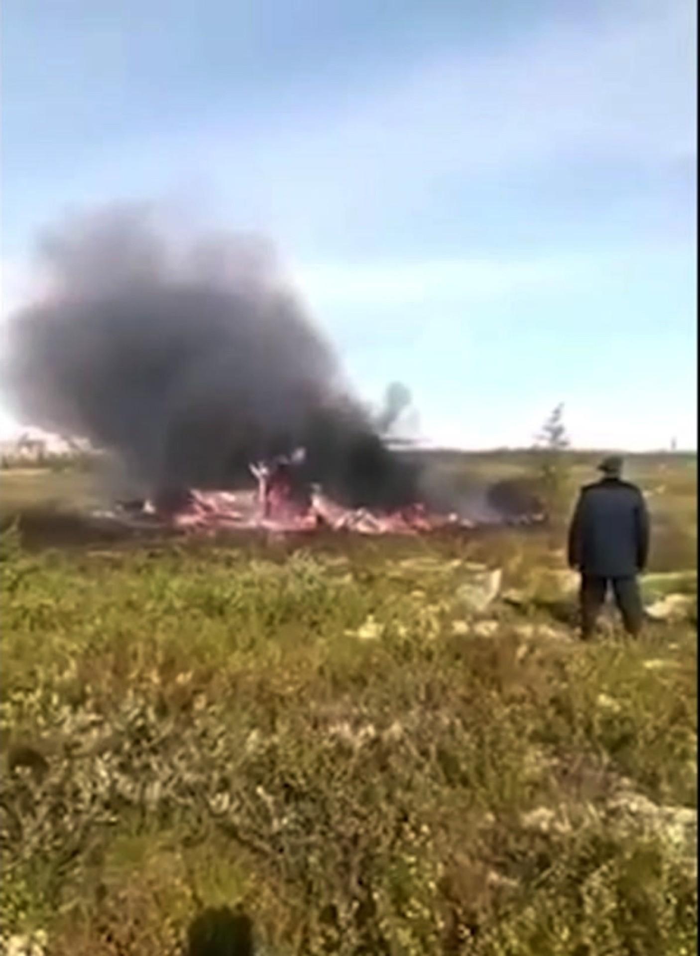 ad58124b7a Maszyna typu MI-8 runęła na ziemię około 180 kilometrów od miasta Igarka w  Kraju Krasnojarskim. Wszystkie osoby przebywające na pokładzie