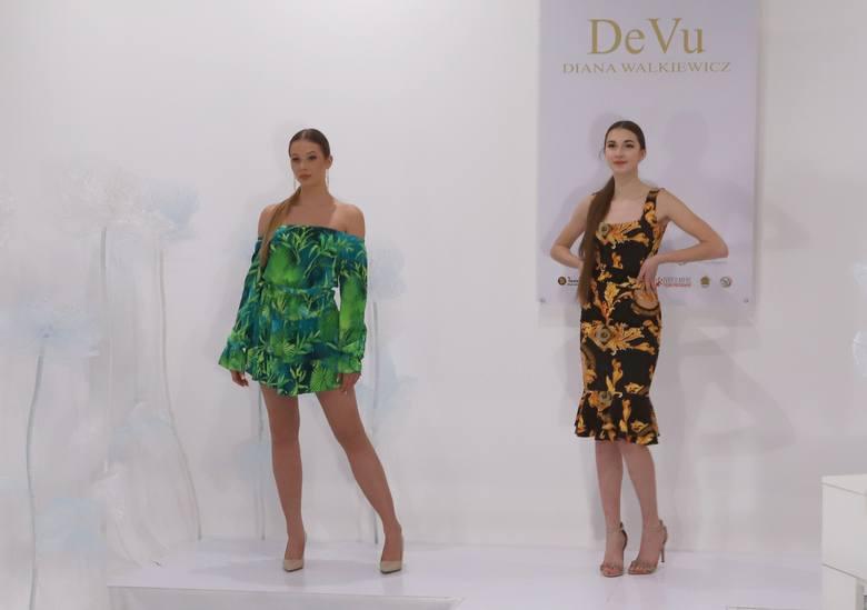 Pokaz mody - kolekcji Diany Walkiewicz, odbył się w piątek 26 lutego w Radomiu.