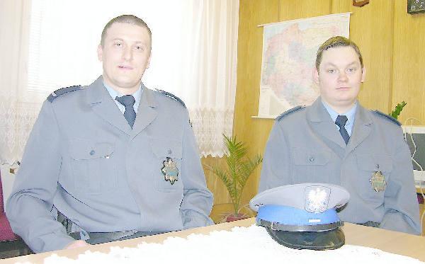 Krzysztof Borkowski (z lewej) i Piotr Podlas.