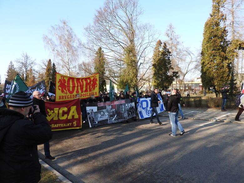 I Hajnowski Marsz Pamięci Żołnierzy Wyklętych w Hajnówce