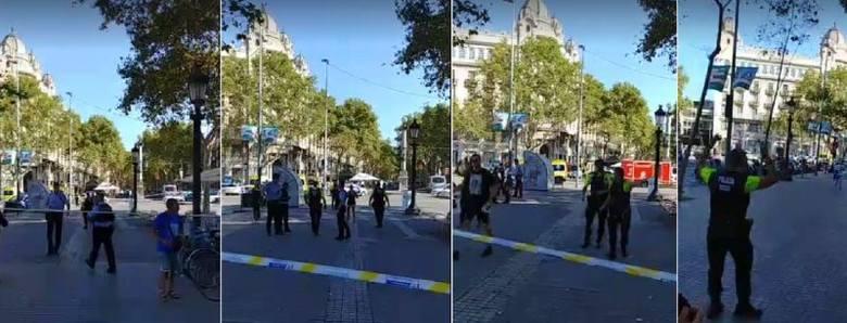 – Byłem akurat w sklepie, kiedy wbiegło do niego kilka przerażonych osób – relacjonuje Tomasz Wróblewski, dziennikarz NTO, który jest w Barcelonie. –