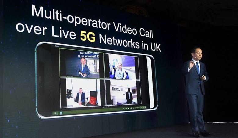 Podczas prebriefingu Huawei przed MWC 2019, który odbył się 20 lutego 2019 r. w Londynie zaprezentowano m.in. najnowsze technologie dotyczące 5G czy