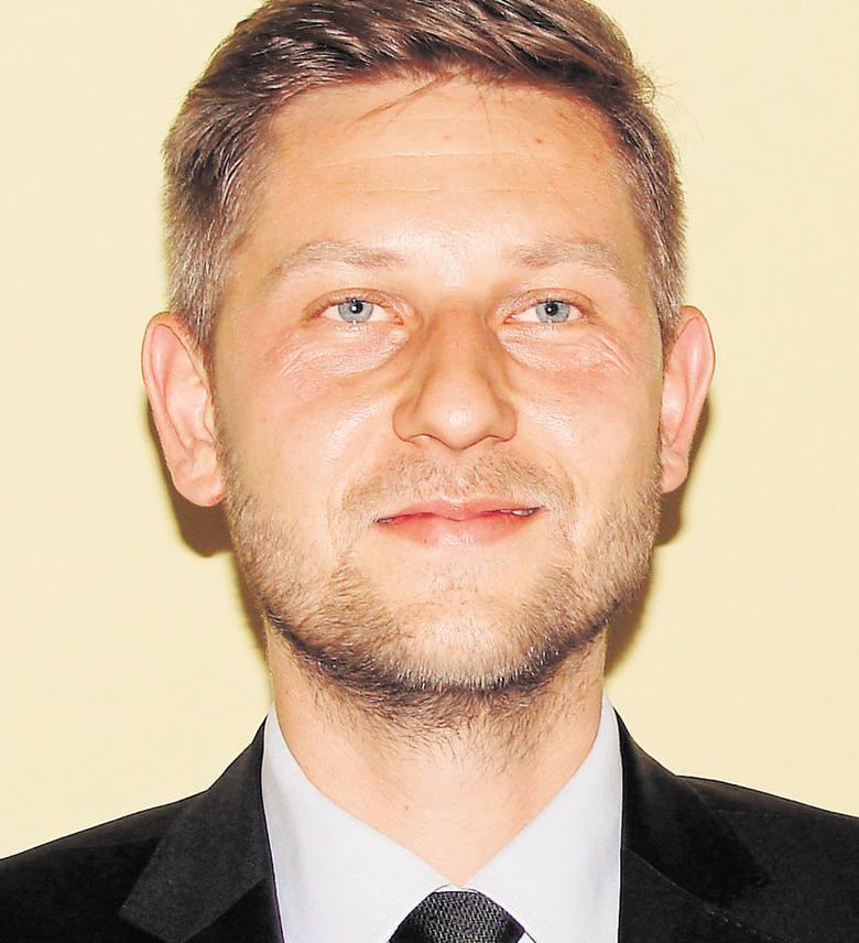 Wieczorek i Sokołowi będzie próbował przeszkodzić Przemysław Staniszewski, kandydat PiS.