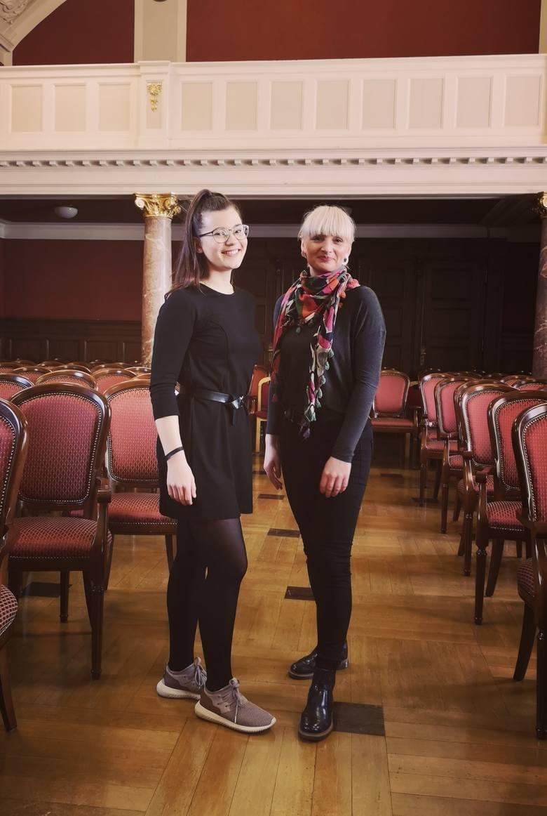 Andrea to osoba bardzo zmotywowana i ambitna - chwali nauczycielka, Karina Koźlik-Wieczorek.