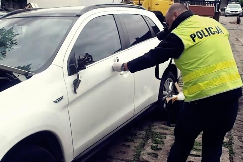 złodziej samochodu