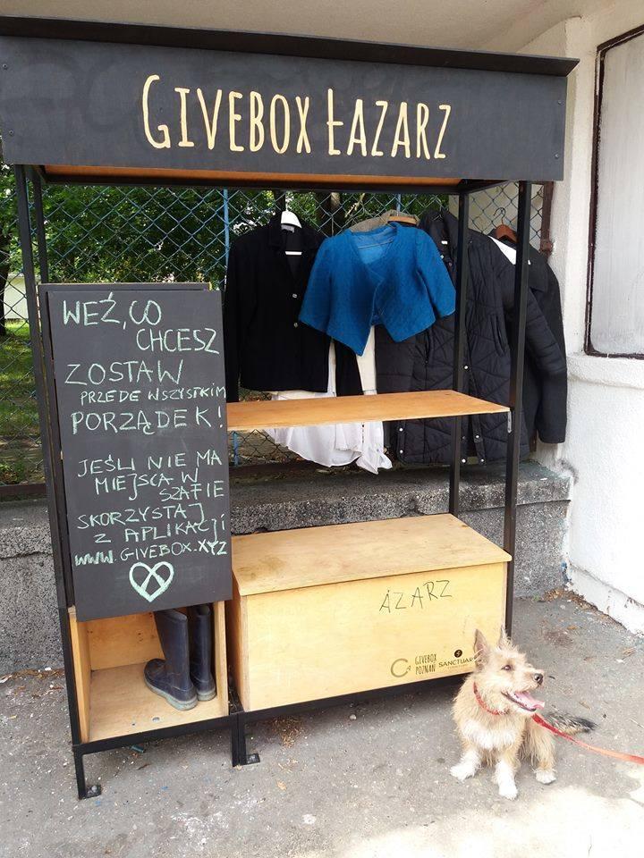 Jes już na Łazarzu i na Jeżycach. W Poznaniu stanie jeszcze jeden Givebox. Gdzie?