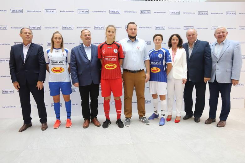 Piłkarki TME Grot SMS, władze klubu i sponsorzy