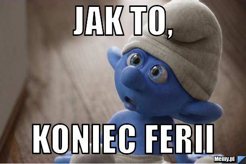 Niedziela, 27 stycznia to ostatni dzień ferii zimowych dla uczniów z Wielkopolski. Co czują na myśl o powrocie do szkoły, najlepiej pokazują memy i demotywatory.