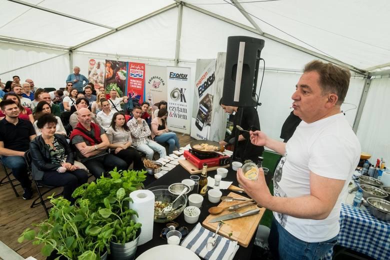 Wczoraj na Wyspie Młyńskiej rozstawili się kucharze i nie tylko. Przez cały dzień odbywała się tam trzecia edycja imprezy pod nazwą Blogger Food Festival,