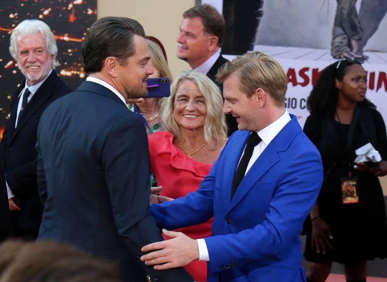 """Premiera """"Pewnego razu... w Hollywood"""", nowego filmu Quentina Tarantino [ZDJĘCIA] Rafał Zawierucha wśród gwiazd na czerwonym dywanie [WIDE"""