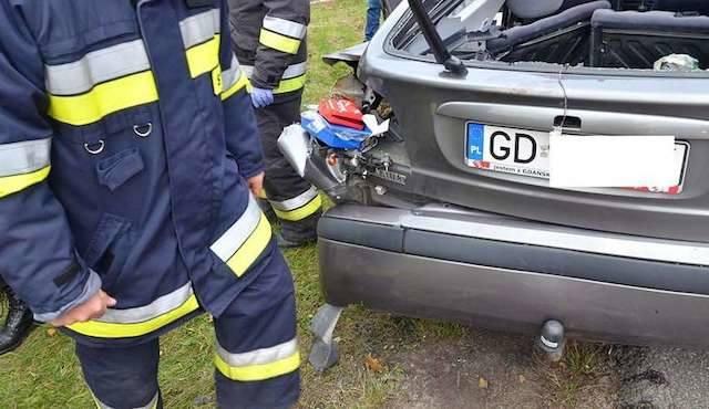 Wypadek w Rynarzewie. Trzeba było wzywać śmigłowiec ratunkowy