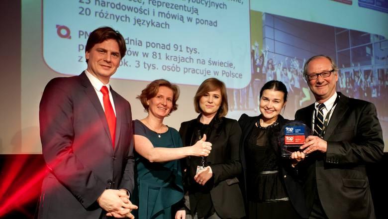 Philip Morris w Polsce uhonorowany tytułem Top Employers