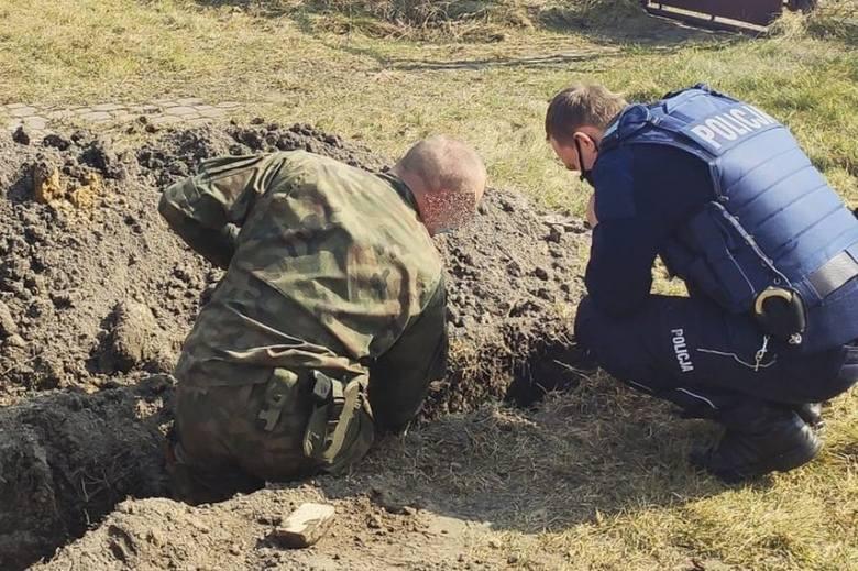 To już drugie niebezpieczne znalezisko z II wojny światowej wykopane w Starowej Górze