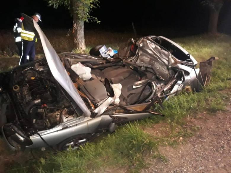 4 sierpnia 2019 r. o godzinie 01:38 do Stanowiska Kierowania Komendanta Powiatowego Państwowej Straży Pożarnej w Sokółce wpłynęło zgłoszenie o wypadku