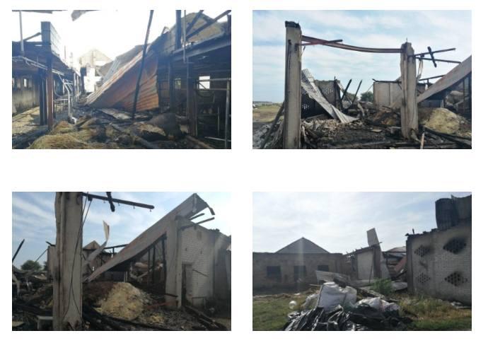 Konopki-Jałbrzyków Stok. Wielki pożar gospodarstwa. Stracili cały dorobek życia. Sąsiedzi zorganizowali zbiórkę pieniędzy [ZDJĘCIA] 23.07